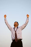 Homem de negócio bem sucedido Fotos de Stock