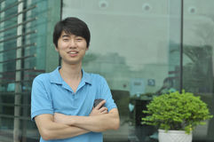 Homem de negócio chinês Fotos de Stock