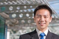 Homem de negócio chinês asiático Fotografia de Stock Royalty Free