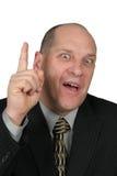 Homem de negócio com uma idéia Imagem de Stock Royalty Free