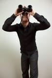 Homem de negócio com uma visão Fotografia de Stock Royalty Free
