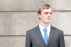 Homem de negócio confiável Fotografia de Stock