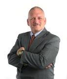 Homem de negócio confiável Imagem de Stock