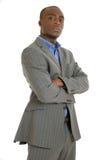 Homem de negócio confiável do americano africano Imagens de Stock