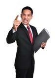 Homem de negócio da preocupação isolado Imagens de Stock Royalty Free