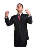 Homem de negócio da preocupação isolado Imagem de Stock Royalty Free