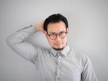 Homem de negócio de Confidense Fotos de Stock