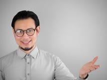 Homem de negócio de Confidense imagens de stock royalty free