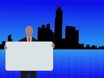 Homem de negócio de Hong Kong Imagens de Stock
