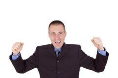 Homem de negócio do sucesso Fotos de Stock