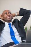 Homem de negócio do sucesso Imagem de Stock