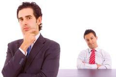 Homem de negócio dois Imagem de Stock Royalty Free