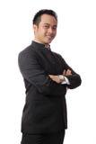 Homem de negócio elegante em um terno Imagem de Stock