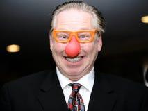Homem de negócio engraçado Imagem de Stock Royalty Free
