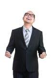Homem de negócio Excited Imagem de Stock