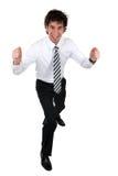 Homem de negócio feliz Imagem de Stock Royalty Free