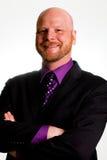 Homem de negócio feliz Imagem de Stock