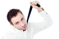 Homem de negócio frustrante Imagem de Stock