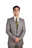 Homem de negócio indiano. foto de stock