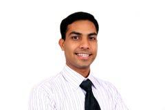 Homem de negócio indiano Fotografia de Stock