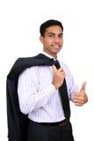 Homem de negócio indiano Imagem de Stock