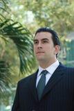 Homem de negócio latin considerável Imagens de Stock