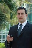 Homem de negócio latin considerável Fotos de Stock