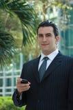 Homem de negócio latin considerável Imagem de Stock