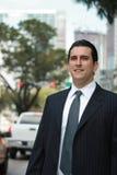Homem de negócio Latin considerável Foto de Stock Royalty Free