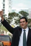 Homem de negócio Latin considerável Imagem de Stock Royalty Free