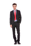 Homem de negócio moderno confiável Foto de Stock Royalty Free