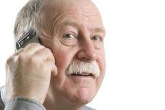 Homem de negócio no telefone Foto de Stock