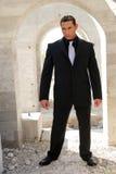 Homem de negócio no terno Foto de Stock Royalty Free