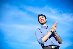 Homem de negócio novo Fotos de Stock