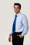 Homem de negócio novo imagens de stock royalty free