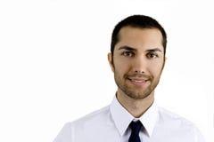 Homem de negócio novo fotografia de stock royalty free