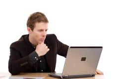 Homem de negócio novo Imagem de Stock