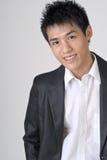 Homem de negócio novo amigável Imagem de Stock Royalty Free