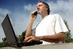 Homem de negócio ocasional Imagens de Stock