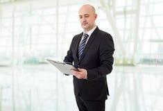 Homem de negócio pensativo Fotos de Stock