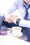 Homem de negócio pensativo Imagem de Stock