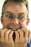 Homem de negócio preocupado Fotos de Stock Royalty Free