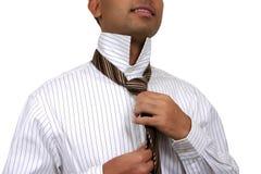Homem de negócio que começ pronto. Imagens de Stock