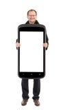 Homem de negócio que guardara o telemóvel collage fotos de stock royalty free
