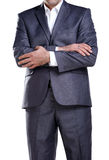 Homem de negócio que mostra sua atitude 2 Imagem de Stock