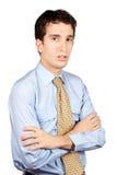 Homem de negócio sério Fotografia de Stock