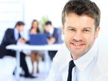 Homem de negócio sênior Foto de Stock