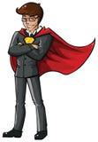 Homem de negócio super Fotografia de Stock Royalty Free