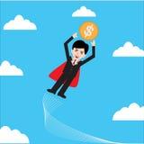 Homem de negócio super Foto de Stock Royalty Free
