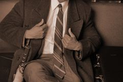 Homem de negócio vestido afiado Foto de Stock Royalty Free